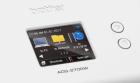 Dettaglio schermo touchscreen dello scanner documentale per ufficio Brother ADS2700W