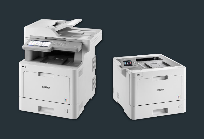 Nuova gamma di stampanti e multifunzione laser a colori Brother