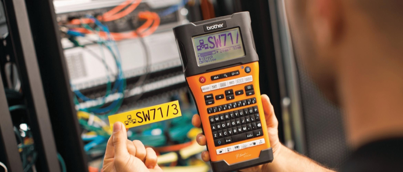 etichettatrice per impiantistica e per elettricisti