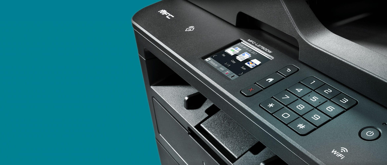 Dettaglio stampante all-in-one laser monocromatica Brother MFC-L2750DW