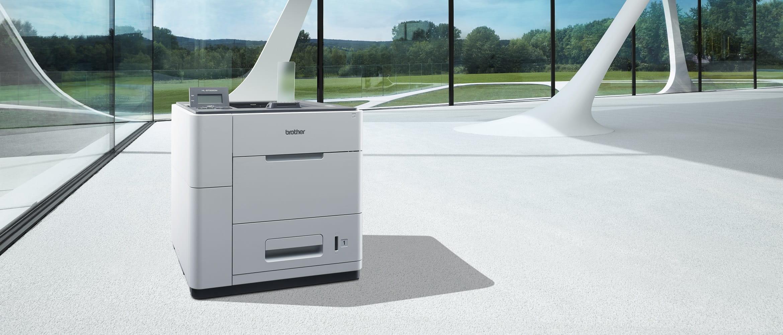 Stampante ad altissima velocità Brother HL-S7000DN in un ufficio open space