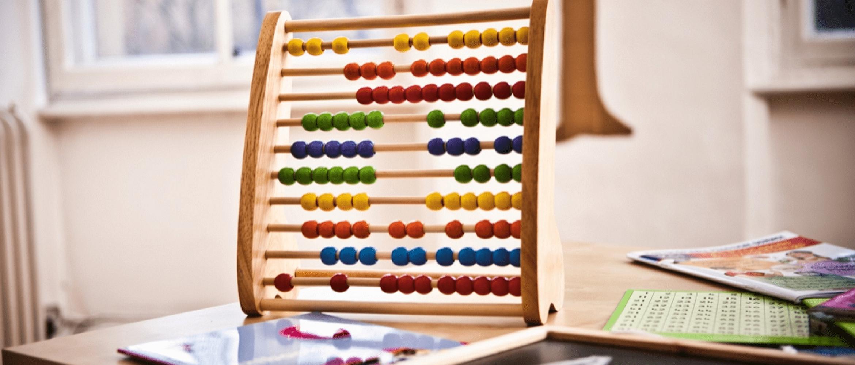 abaco per fare calcoli in classe scolastica