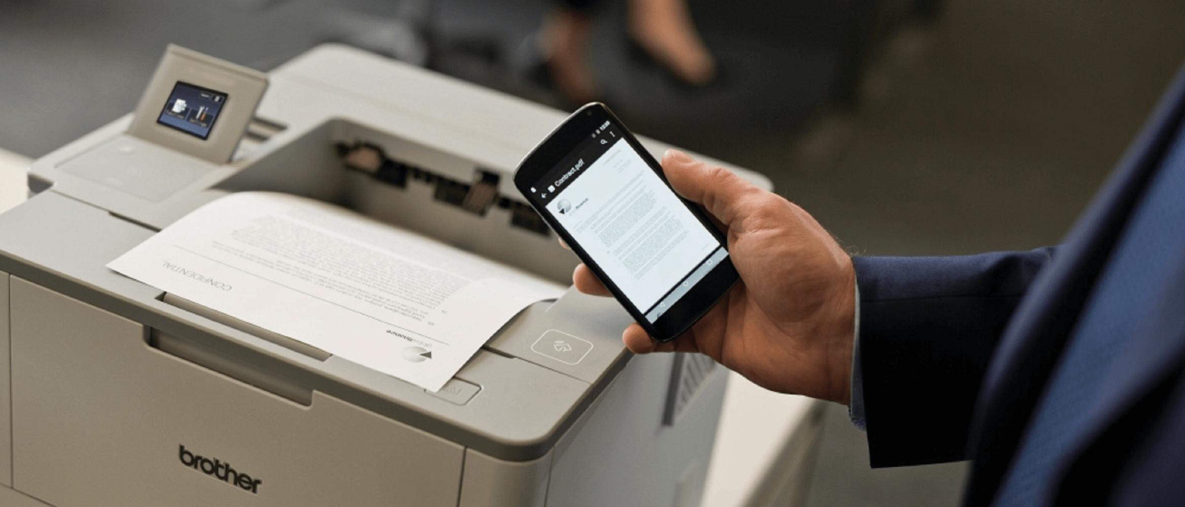 stampante compatibile con wi-fi direct tecnologia wireless per smartphone