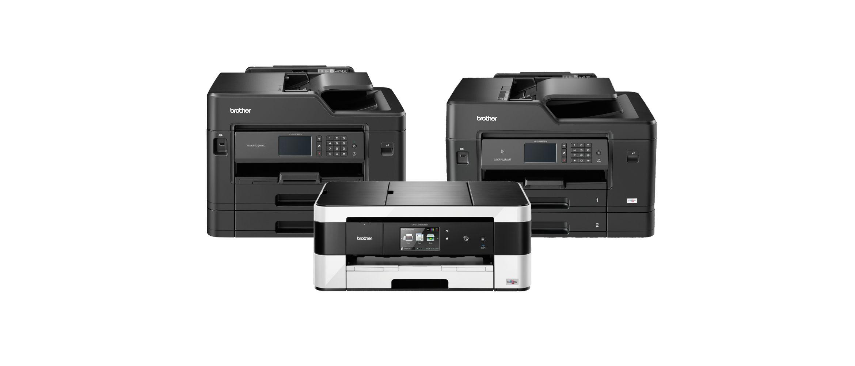 Gamma di stampanti multifunzione inkjet A3 di Brother