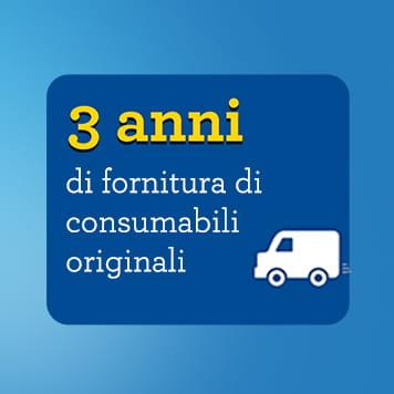 Fornitura di consumabili originali per 3 anni con Brother Smart 9,90€