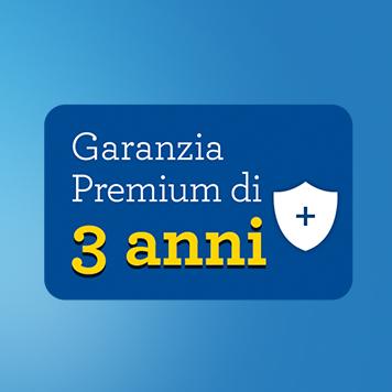 Banner 3 anni garanzia Premium per offerta Brother Smart 9,90€