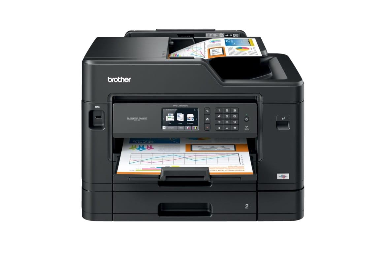 Foglio stampato con stampante multifunzione inkjet Brother MFC-J5730DW