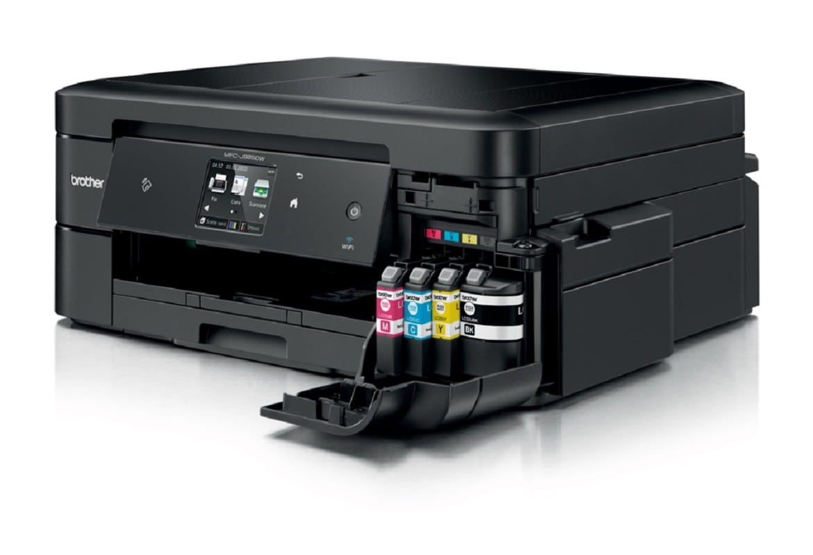 Stampante multifunzione inkjet Brother MFC-J985DW con cartucce XL Inkbenefit