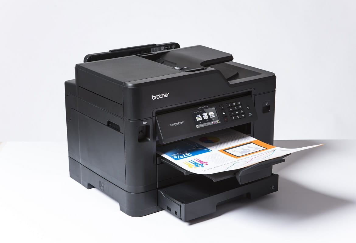 Stampa in A3 con stampante multifunzione Brother MFC-J5730DW