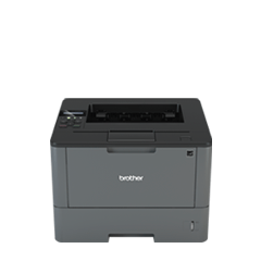 Stampante laser mono Brother HL-L5100DN con rete cablata