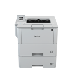 Stampante laser monocromatica ad alta velocità con cassetta carta aggiuntivo Brother HL-L6400DWT