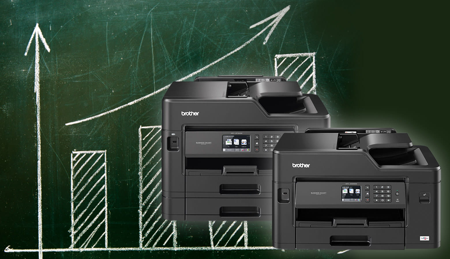 Gamma Brother Business Smart con stampante multifunzione inkjet MFC-J5330DW e MFC-J5730DW