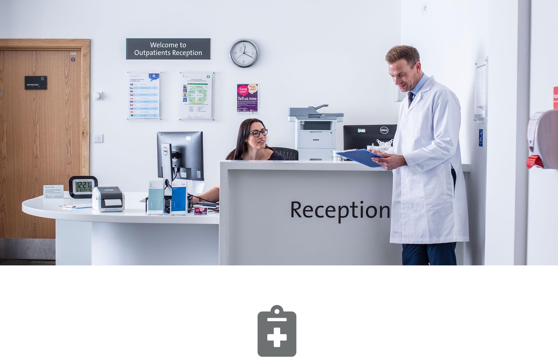 Soluzioni di stampa Brother per gli studi medici