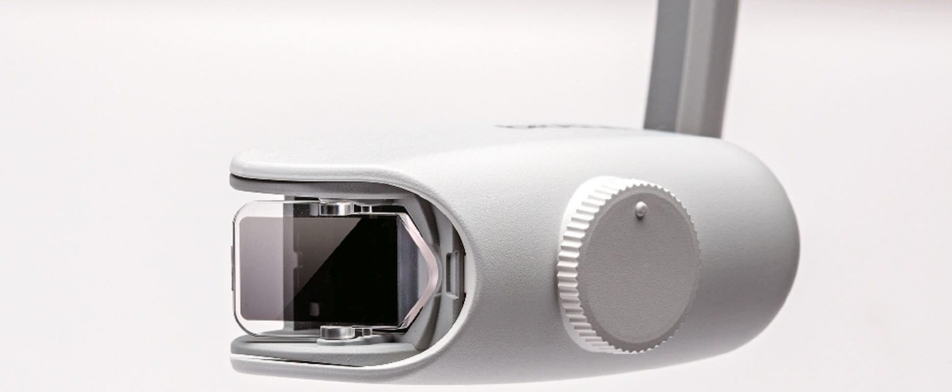 Dettaglio lente del visore Brother AiRScouter WD-200B