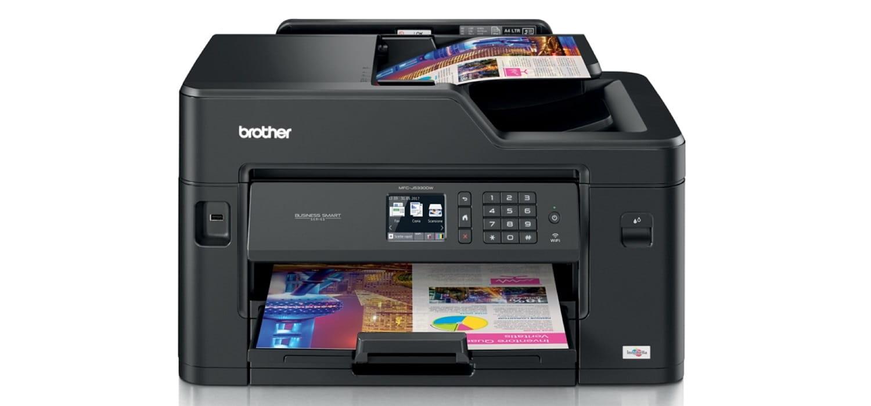 Fogli da stampati a color con stampante multifunzione professionale inkjet Brother MFC-J5330DW