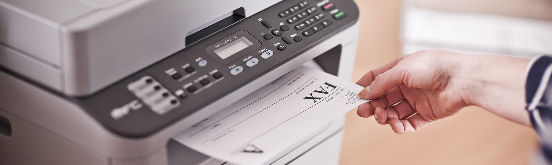 Foglio stampato con stampante multifunzione laser monocromatica Brother MFC-L2700DW