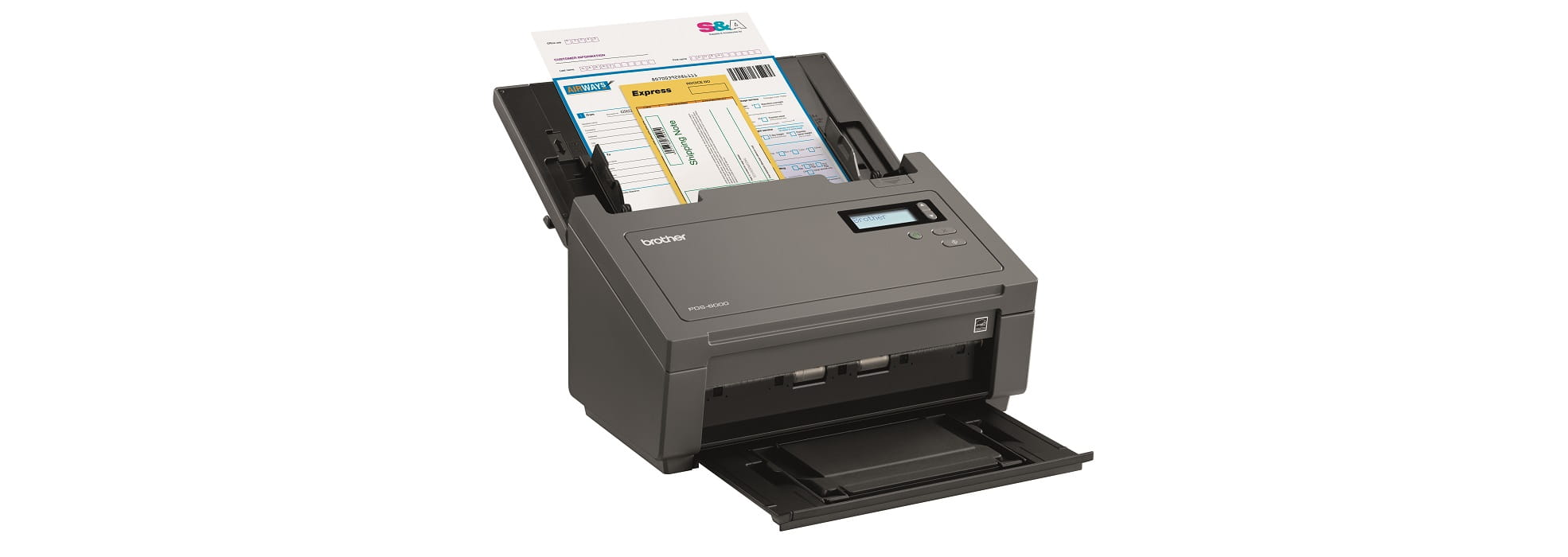 Scanner ad altissima velocità con ADF Brother PDS-6000