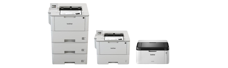 Gamma di stampanti laser monocromatiche Brother