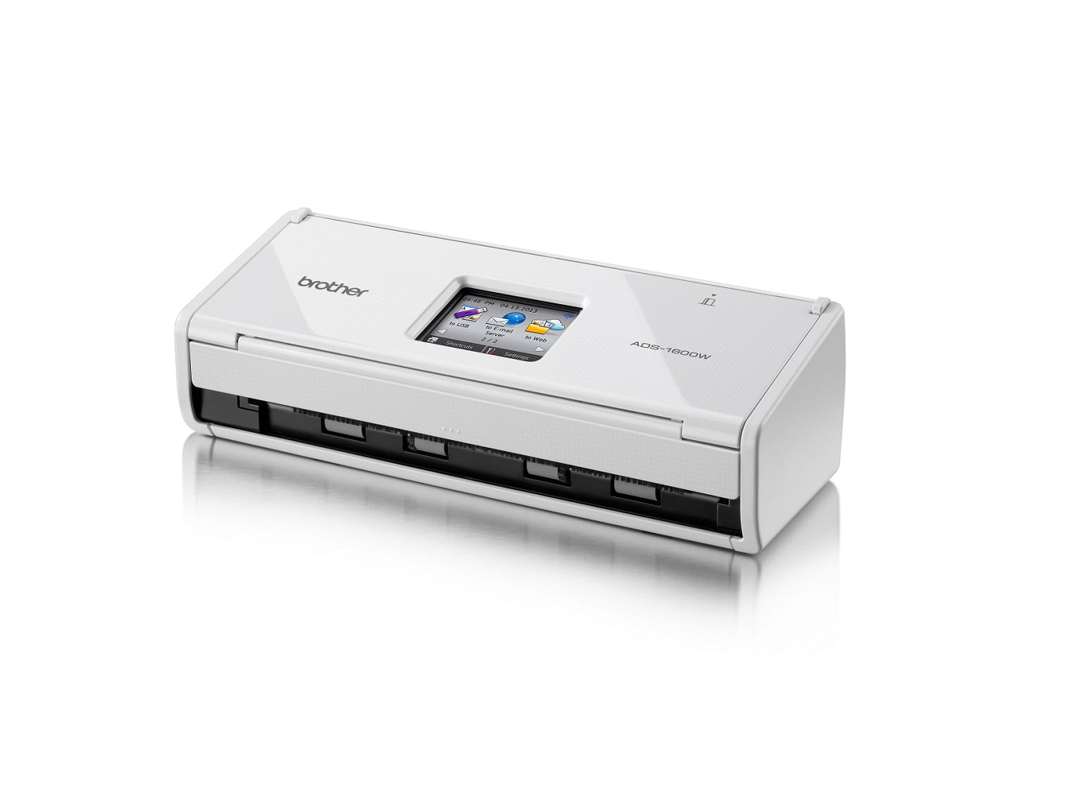 Scanner compatto Brother ADS-1600W con WiFi