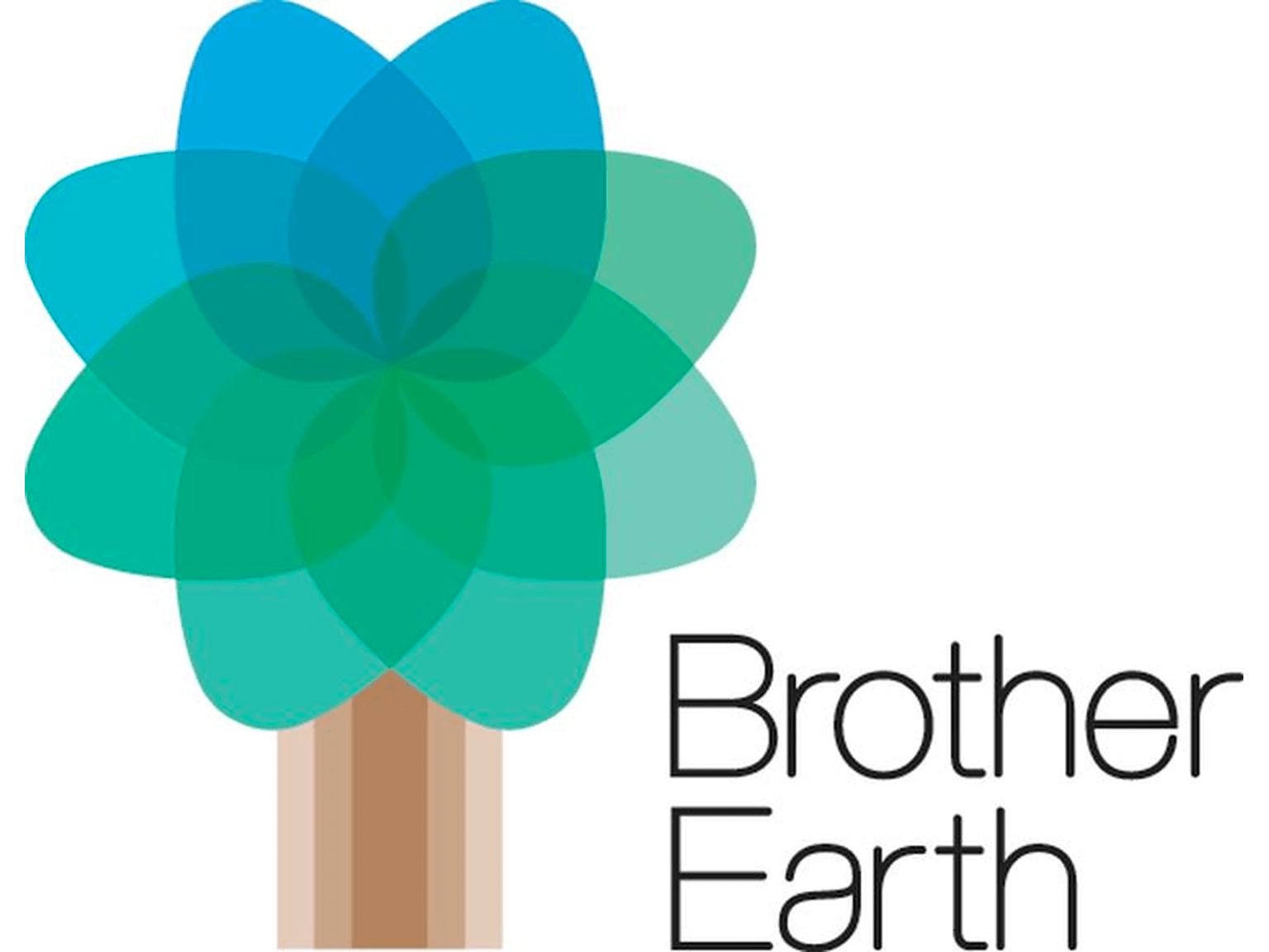 Logo dell'iniziativa per la tutela dell'ambiente  Brother Earth