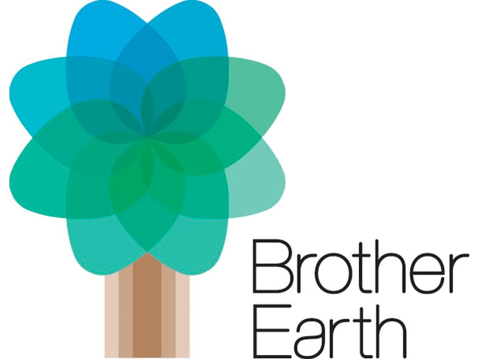 Logo dell'iniziativa per la tutela dell'ambiente  Brother Earth