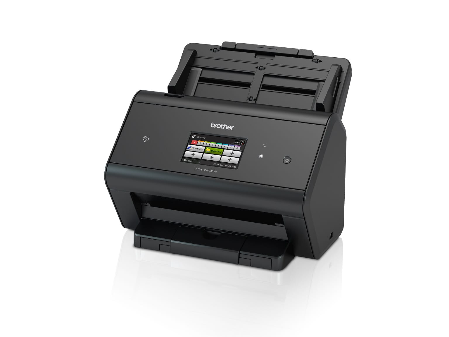 Scanner desktop Brother professionale con WiFi e display touchscreen