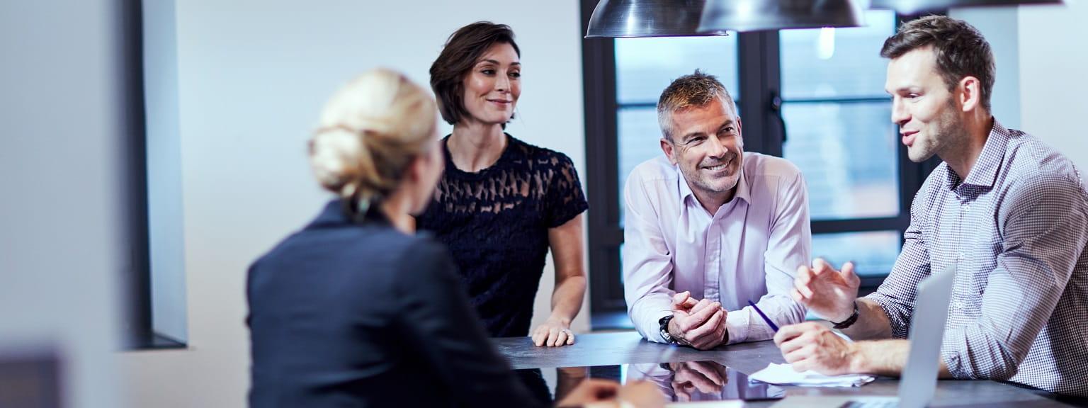 Meeting informale in ufficio