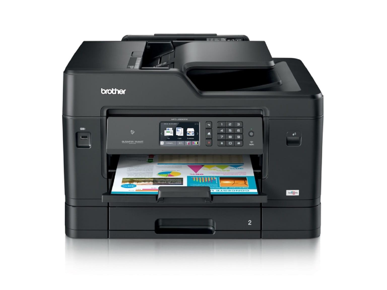 Foglio stampato con stampante A3 Brother MFC-J6930DW