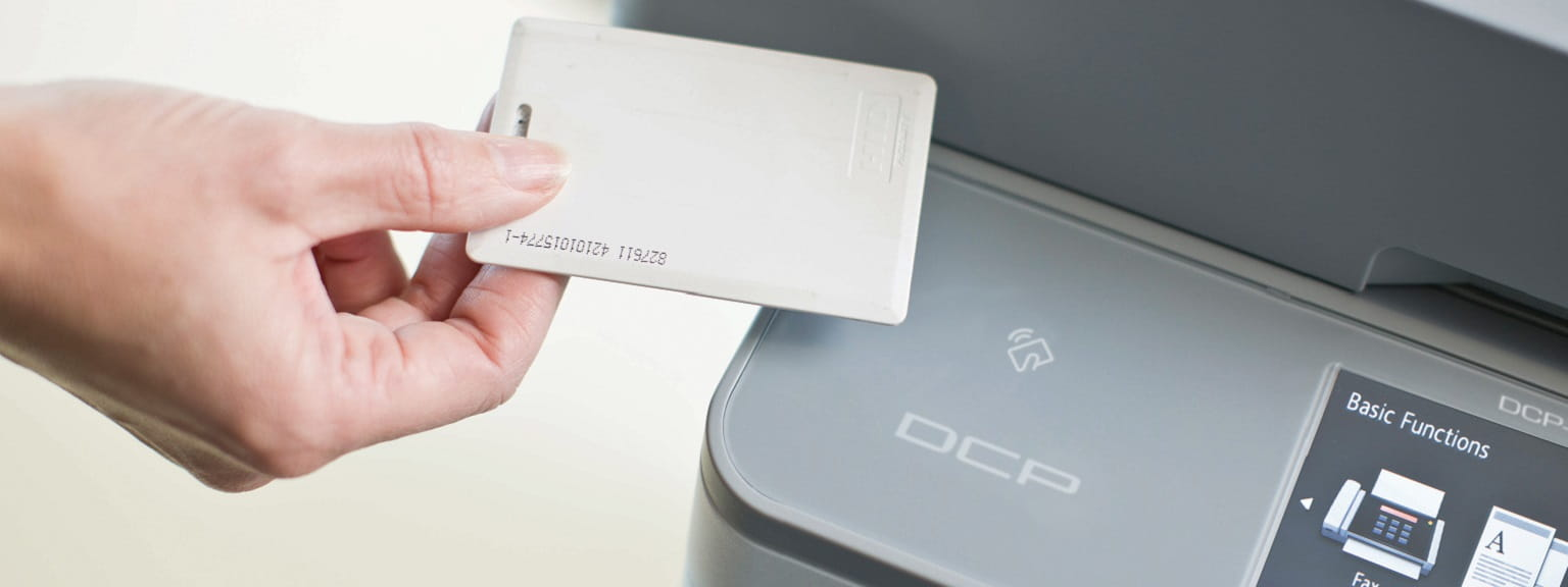 Card NFC su stampante multifunzione Brother DCP-L6600DW