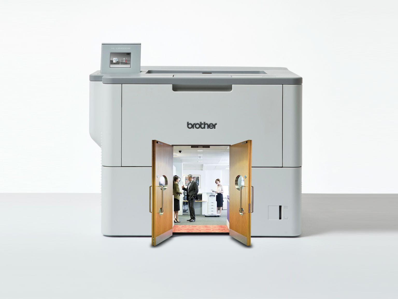 Nuova gamma di stampanti laser monocromatiche professionali Brother L6000