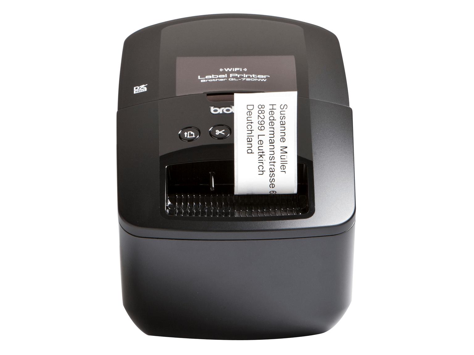 Brother QL-720NW Stampante di etichette di rete professionale con connessione wireless/cablata