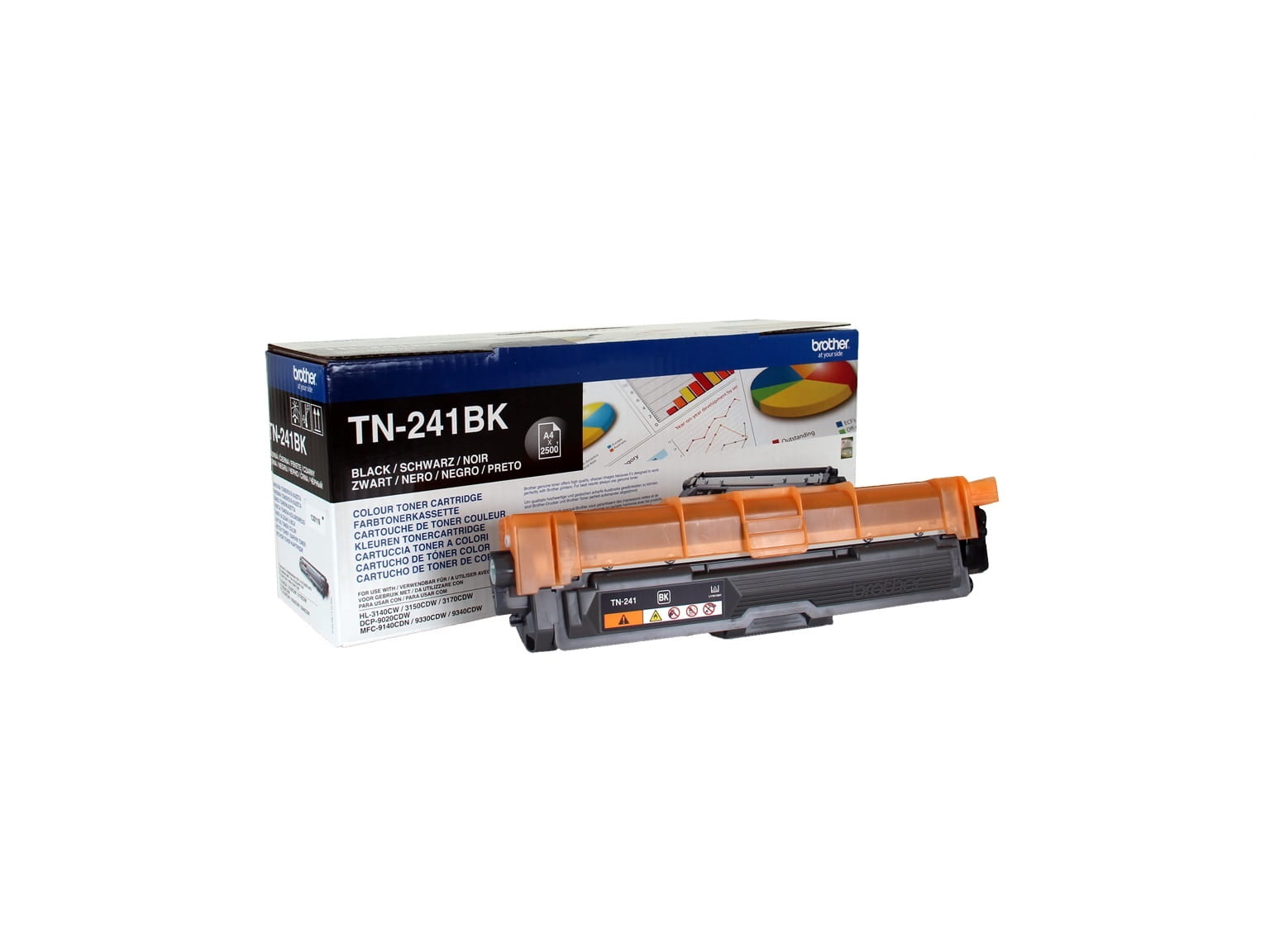Toner originale nero Brother TN241BK con 10% di sconto