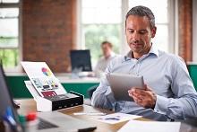 ADS-1600W lavorare in ufficio
