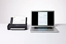 ADS-1100W scanner collegato a Mac