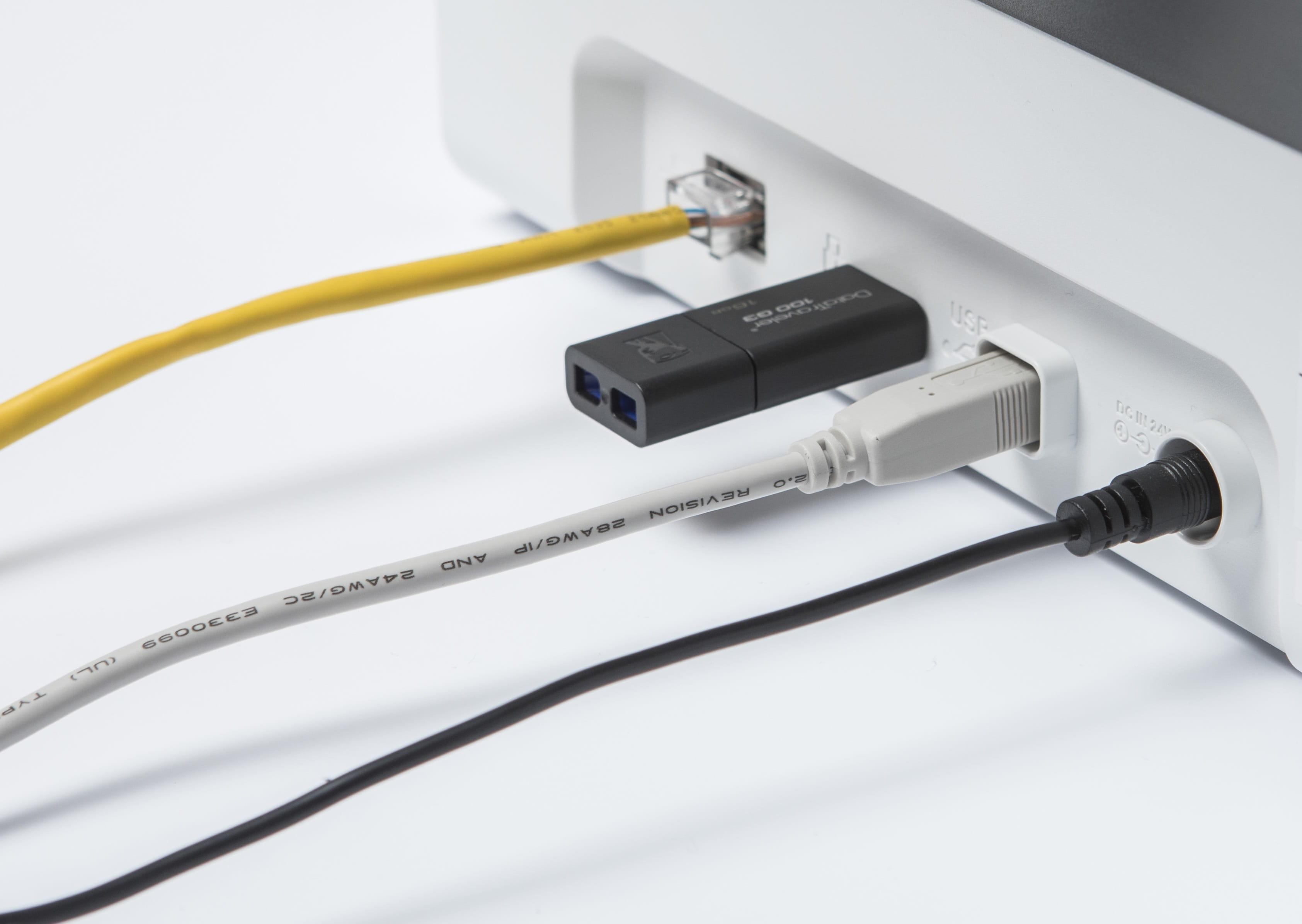 Dettaglio delle modalità di connessione dello scanner Brother ADS2700W e ADS-2200