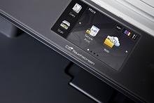 Display touchscreen della stampante multifunzione laser LED a colori Brother DCP9020CDW