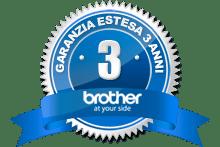 Logo Brother garanzia estesa 3 anni