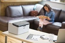 HL-1210W stampante laser bianco e nero
