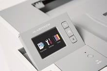 Dettaglio display touchscreen della stampante laser a colori HL-L9130CDW