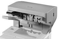 Stampante laser con pinzatrice automatica