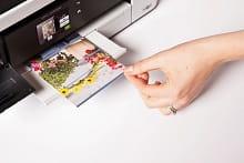 MFC-J4420DW display touchscreen e stampa a colori