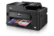 Foglio stampato a colori con stampante multifunzione inkjet Business Smart Brother MFC-J5330DW