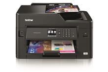 Foglio stampato con stampante multifunzione inkjet professionale Brother MFC-J5330DW