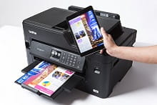 Stampa da tablet con stampante multifunzione inkjet Business Smart MFC-J5330DW