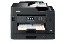 Foglio scansionato tramite ADF con stampante multifunzione professionale inkjet Brother MFC-J5730DW