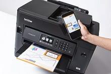 Stampa da smartphone con stampante multifunzione professionale inkjet Brother MFC-J5730DW