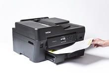 Foglio stampato in A3 con stampante multifunzione inkjet A3 Brother MFC.J6530DW