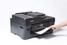 Foglio stampato in A4 con stampante multifunzione inkjet A3 Brother MFC-J6530DW