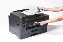 Scansione da ADF con stampante multifunzione professionale inkjet Brother MFC-J6930DW