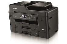 stampante multifunzione professionale inkjet Brother MFC-J6930DW con stampa in A3 e doppio cassetto carta